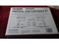 Universal scart/camcorder Kit