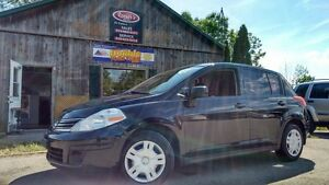 2011 Nissan Versa Hatchback 6spd Manual, Tinted Windows,Sunroof,