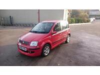 FIAT PANDA 1.3 Multijet Dynamic 5dr (red) 2006