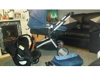 Mother care Roma pram and car seat