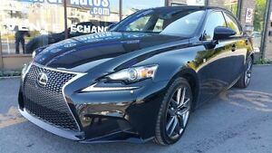 2014 Lexus IS 250 F-Sport AWD,RED INTERIOR, NAVIGATION