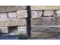 Reclaimed Building Buff Bricks