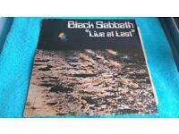 Vinyl L.P's - Classic Rock - Black Sabbath/ Rush / Fleetwood Mac/ Ronny Jordan/ Belle & Sebastian