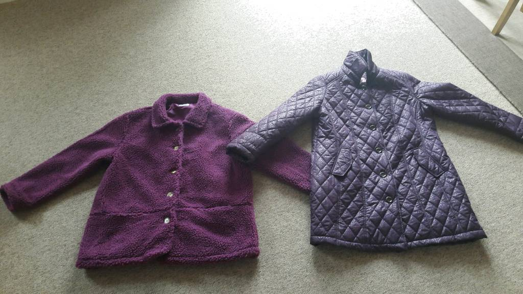ladies fleece and jacket