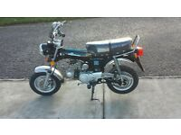 dx90 mini monkey groilla bike, same as the older honda st dax mini trail easy rider, camper 4 speed