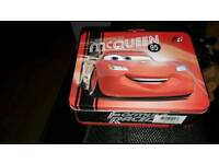Lighting mcqueen lunch box two different colours