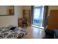 Lovely Fully Furnished & All Bills Inc, Large Double Room With Balcony, Minutes From Westferry DLR