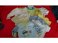 Baby clothes bundle pack 0-3 3-6