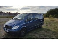 6 seats. Secure back previously used to transport dogs. Great for large family and for work.