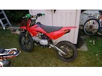 Demon x 2012 125/140 pitbike