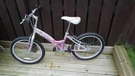 Good as new girls bike