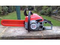 Mitox petrol chainsaw in excellent condition