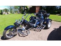 BOOM low rider Trike excellent condition first to see will buy!