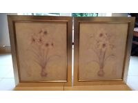Two Flowers in a Vase framed prints