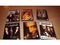 Selection of 6 DVD's