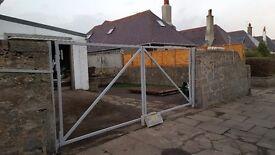 Garden Gates make new repair old.