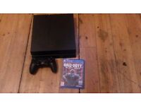 500gb ps4 with control and 1 game