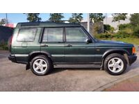 LANDROVER DISCOVERY TD5 SERIES 2, 7 SEATER FULL LEATHER MOT MAY 2018