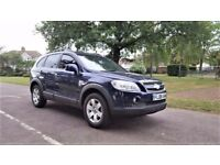 7 Seater | 2008 CHEVROLET CAPTIVA 2.0 LT 7S VCDi | Diesel | Hpi Cleared | Low Mileage 49000 |