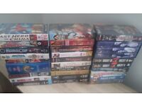 large selection of VHS tapes - 100% complete in box