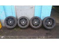 """Bmw alloys 18""""+ tyres"""