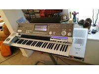 Technics KN7000 workstation, arranger, synth keyboard