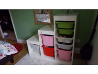 Storage combination with boxes for KIDS