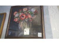 Flora Tomkins Signed Original Watercolour