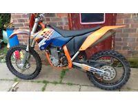 2009 ktm 530 £1800 ONO
