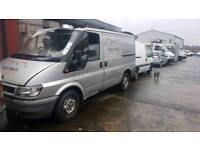 Transit 2003 silver 2.3 petrol gas breaking for parts
