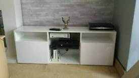 Tv unit white
