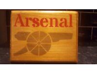 Football team plaque