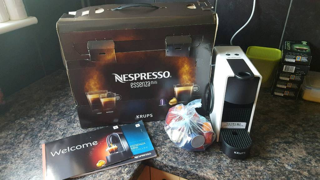 Nespresso Essenza Krups Mini Coffee Machine | in Diss, Norfolk ...