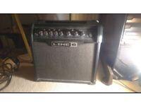 Line 6 Spider IV 15 Guitar Amp~ 15 watt amp 1x8inch speaker with effects