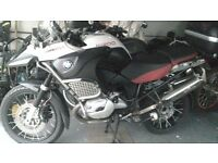 motorbike sale and garage clearout ,bmw gs 1200 adventure, yamaha fjr 1300,sherco 300,montesa 4rt,