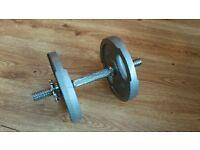Dumbbells - Spinlocks - 4 x 5Kg, 4 X 2.5 KG (Cheam SM3 8PH)