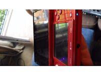 Red Nintendo 3DS + POKEMON Y