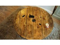 Rustic/industrial table