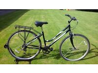LADIES HAWK SCENIC STEP THROUGH HYBRID BIKE * FULLY SERVICED / GOOD CONDITION *