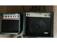 2 grater ampliers