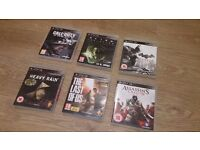 SONY PLAYSTATION 3 PS3 - ADULT GAMES BUNDLE (6No)