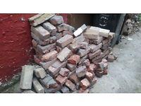 Free Reclaimed Red Bricks