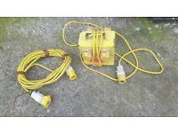 110 Volt Extension Lead & 4 Way Splitter