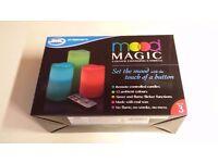 JML Mood Magic Set Of 3 Candles - GENUINE BRAND NEW UNOPENED UNUSED