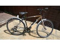 21inch Aluminum Frame Hybrid Discovery Bike Excellent Condition