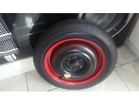 SPACESAVER WHEEL FOR FORD KA PLUS 2017 ON.