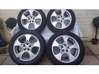"""Subaru Forrester 16"""" Alloys and Tyres"""