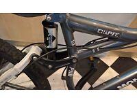 Professional mountain bike, in retail was£1,500 in discount, 3 yearsold, 27 speed, fluid disc brake