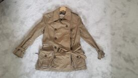 Burberry lady's coat for sale (size 8)