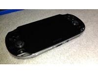 PS Vita (Perfect condition, 4+8GB Memory card, 4 games, original psvita case)
